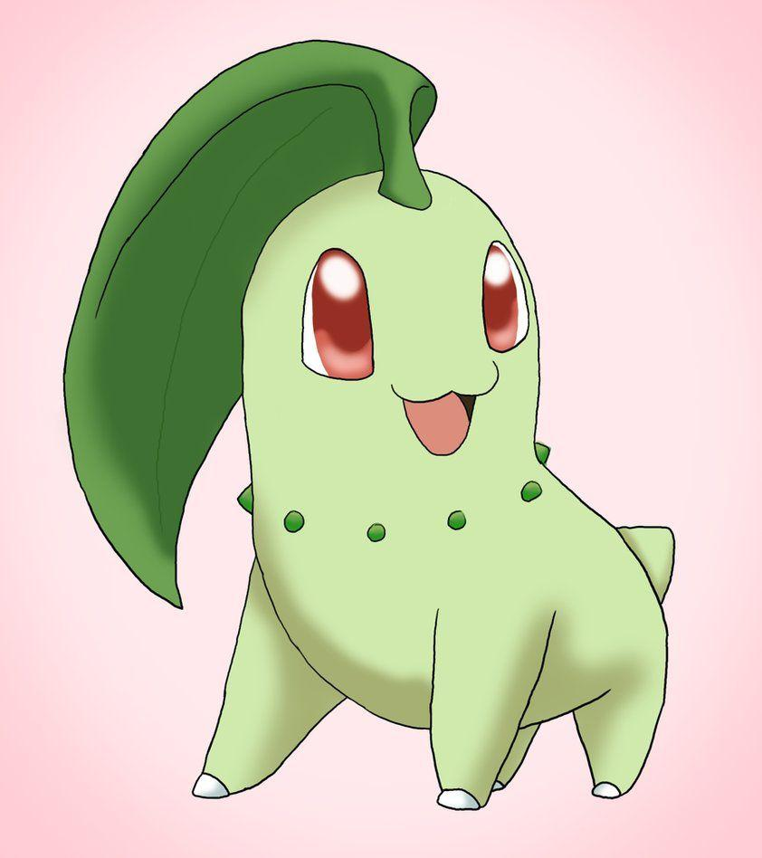 Chikorita by CardcaptorKatara on DeviantArt