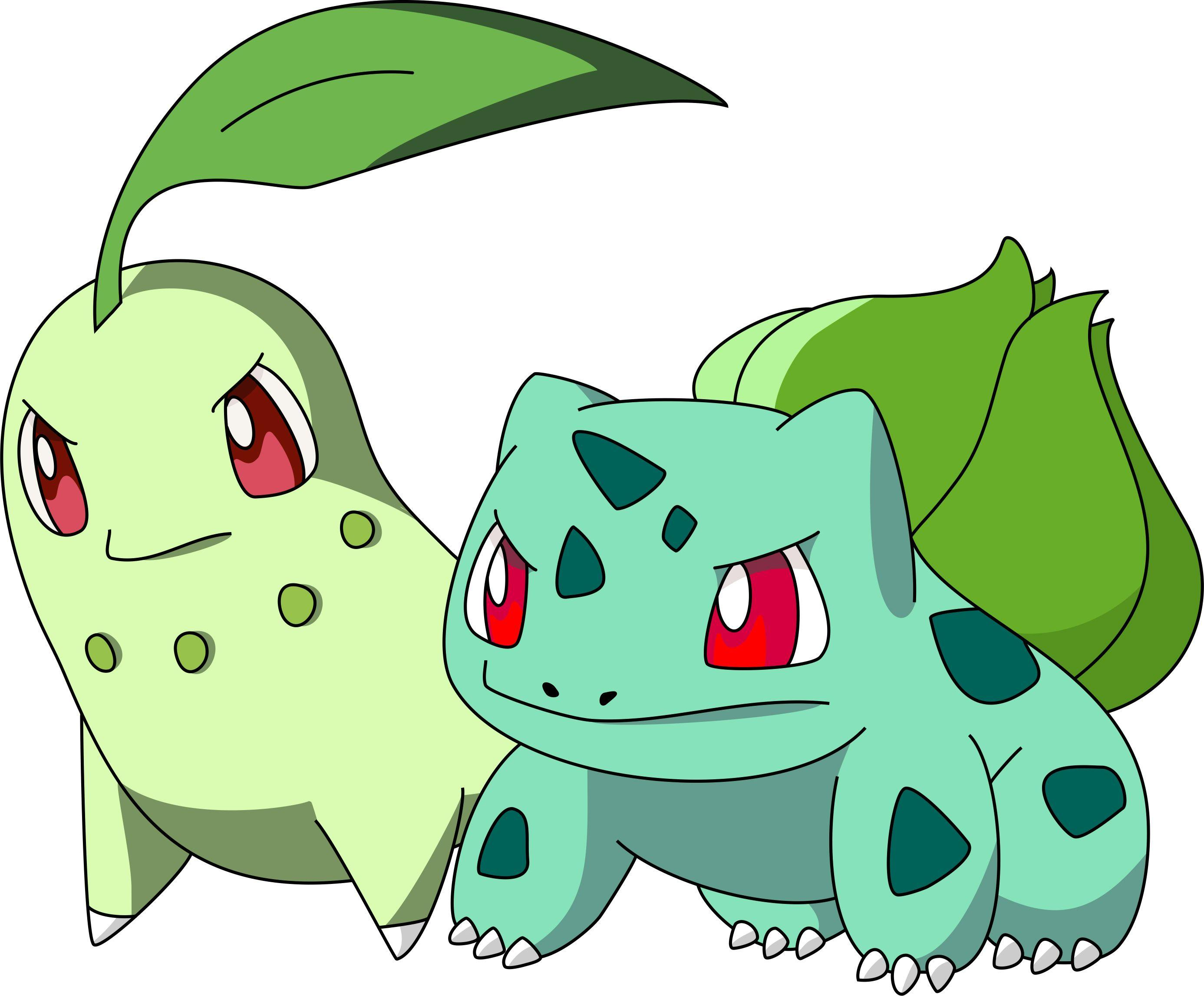 Bulbasaur and Chikorita! by tovirex on DeviantArt | Video Games ...