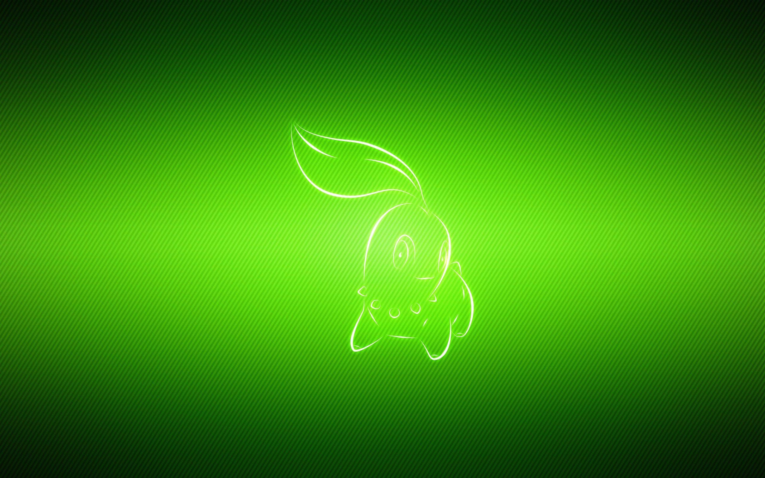 Pokemon video games multicolor manga chikorita wallpaper ...