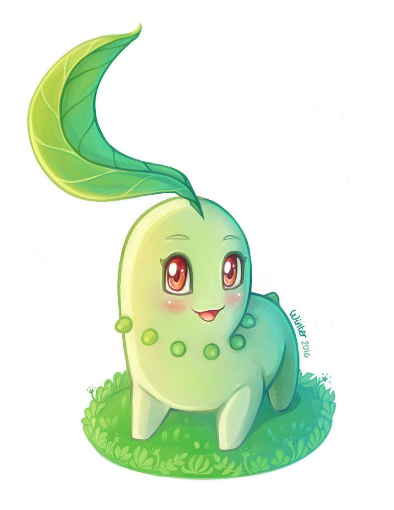 Chikorita by WinterThistles on DeviantArt