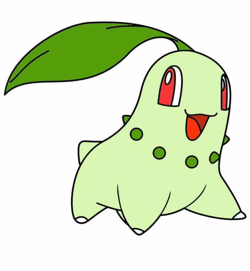 Chikorita :3 by SlenderWarz on DeviantArt