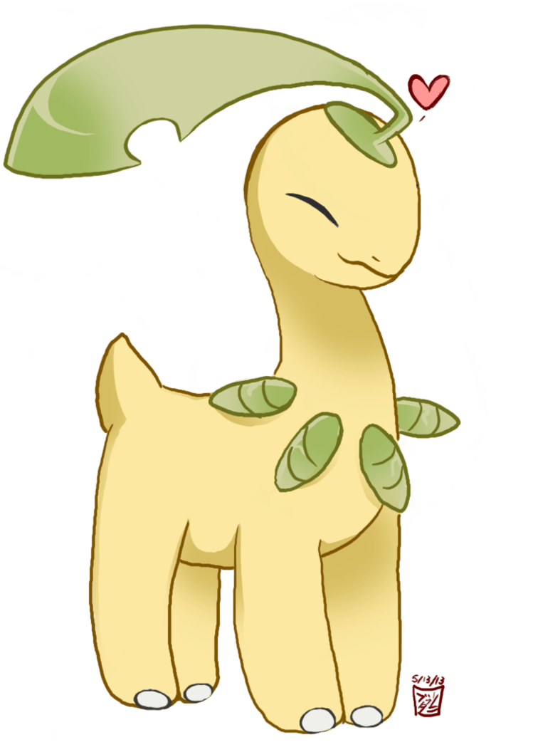 Pokemon: Bayleef the Cutie by Usagi-Asakura on DeviantArt
