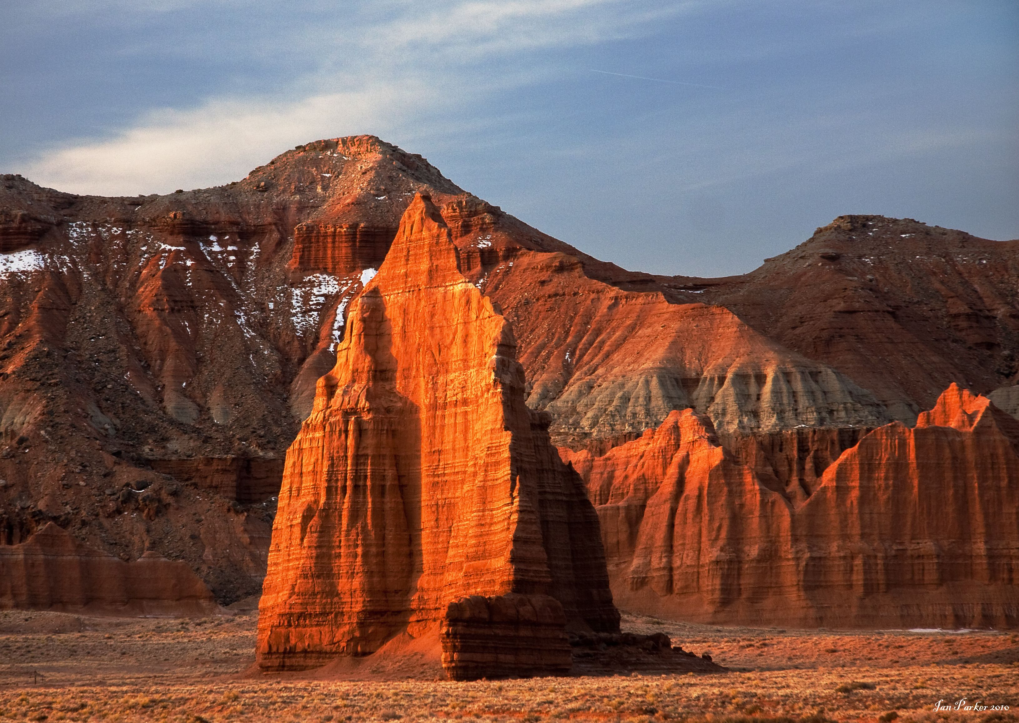 Evanescent Light : Capitol Reef