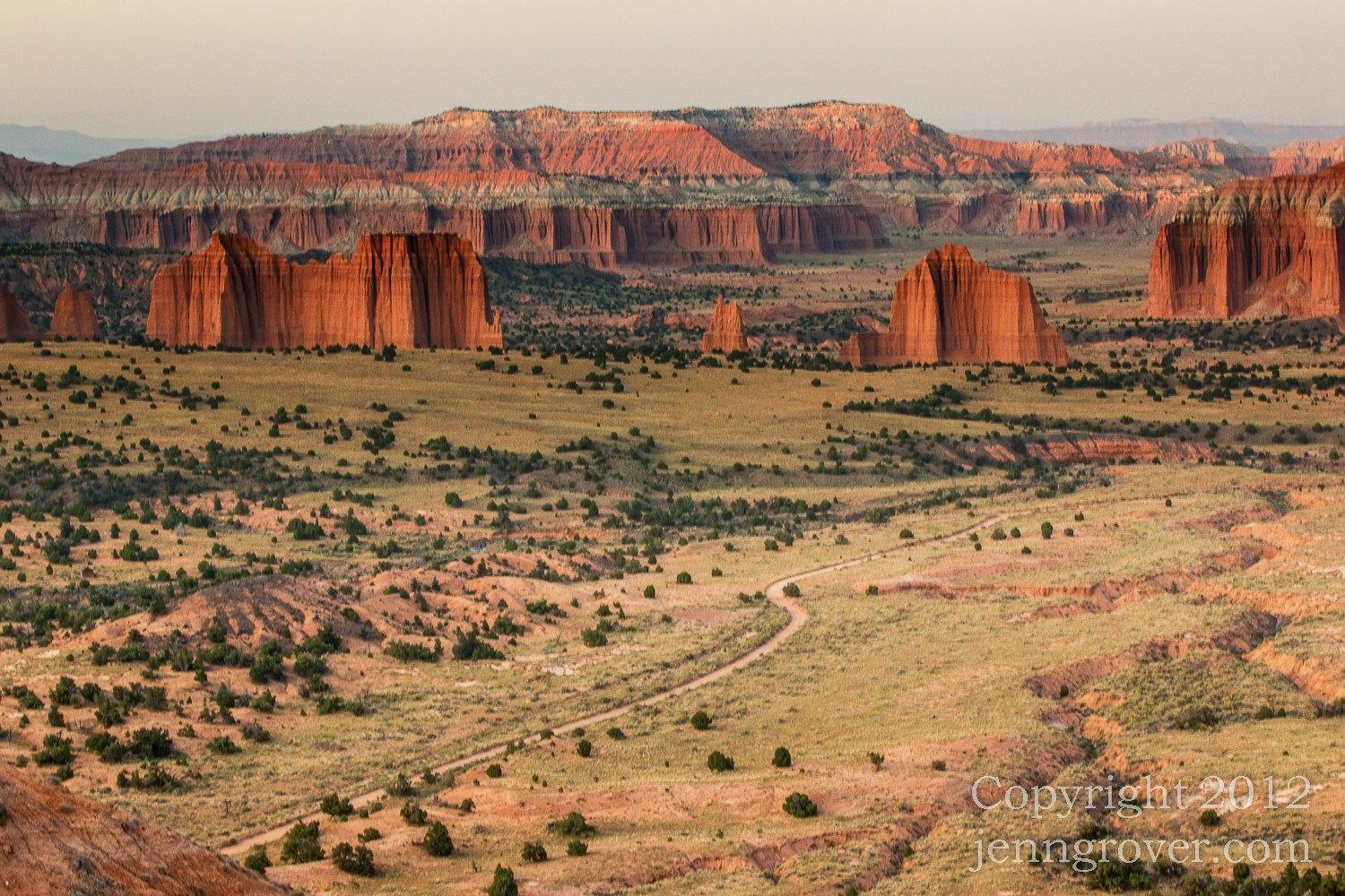 Capitol Reef National Park – Cathedral Valley – Jenn Grover