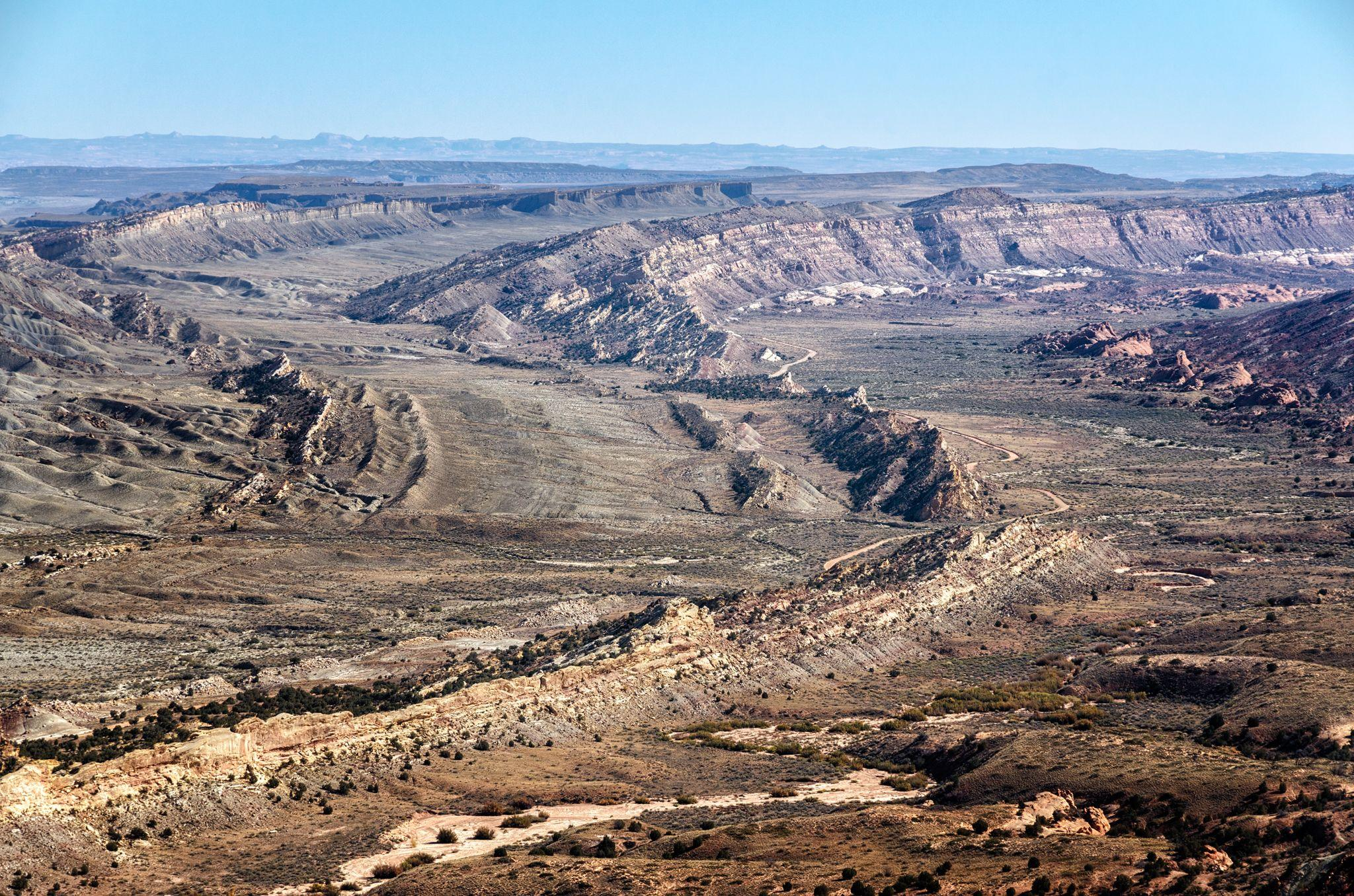 Strike Valley overlook in Capitol Reef National Park
