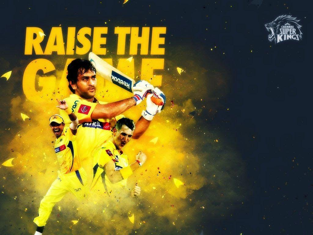 Ms Dhoni Hd Wallpapers Csk