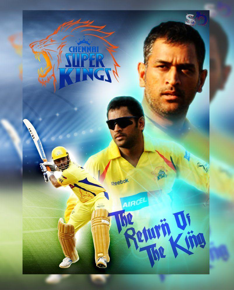 csk ms dhoni photos download