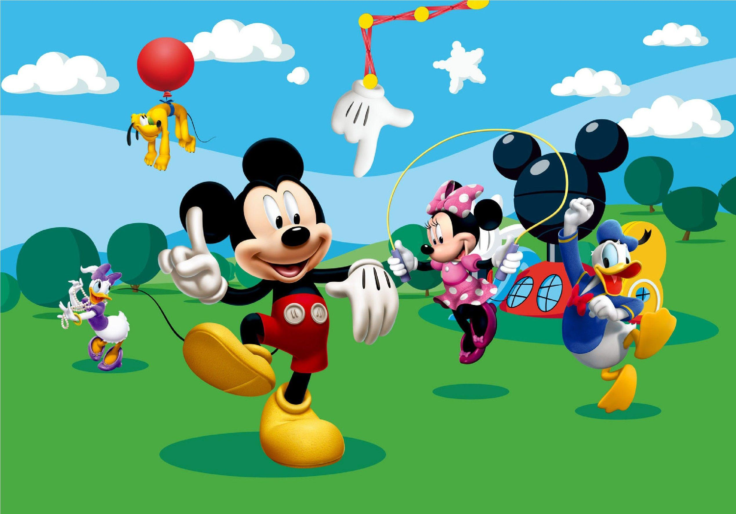 Mickey Mouse Clubhouse Wallpapers Wallpaper Cave