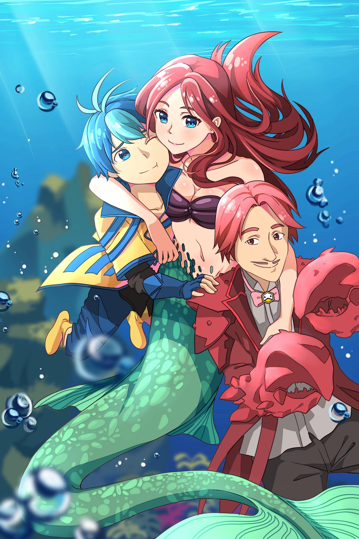 Anime Mermaids Wallpap...