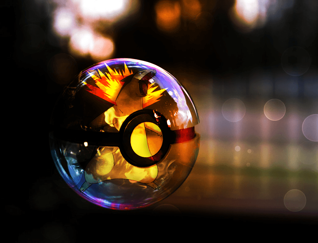 Cyndaquil Pokeball Hd Wallpapers