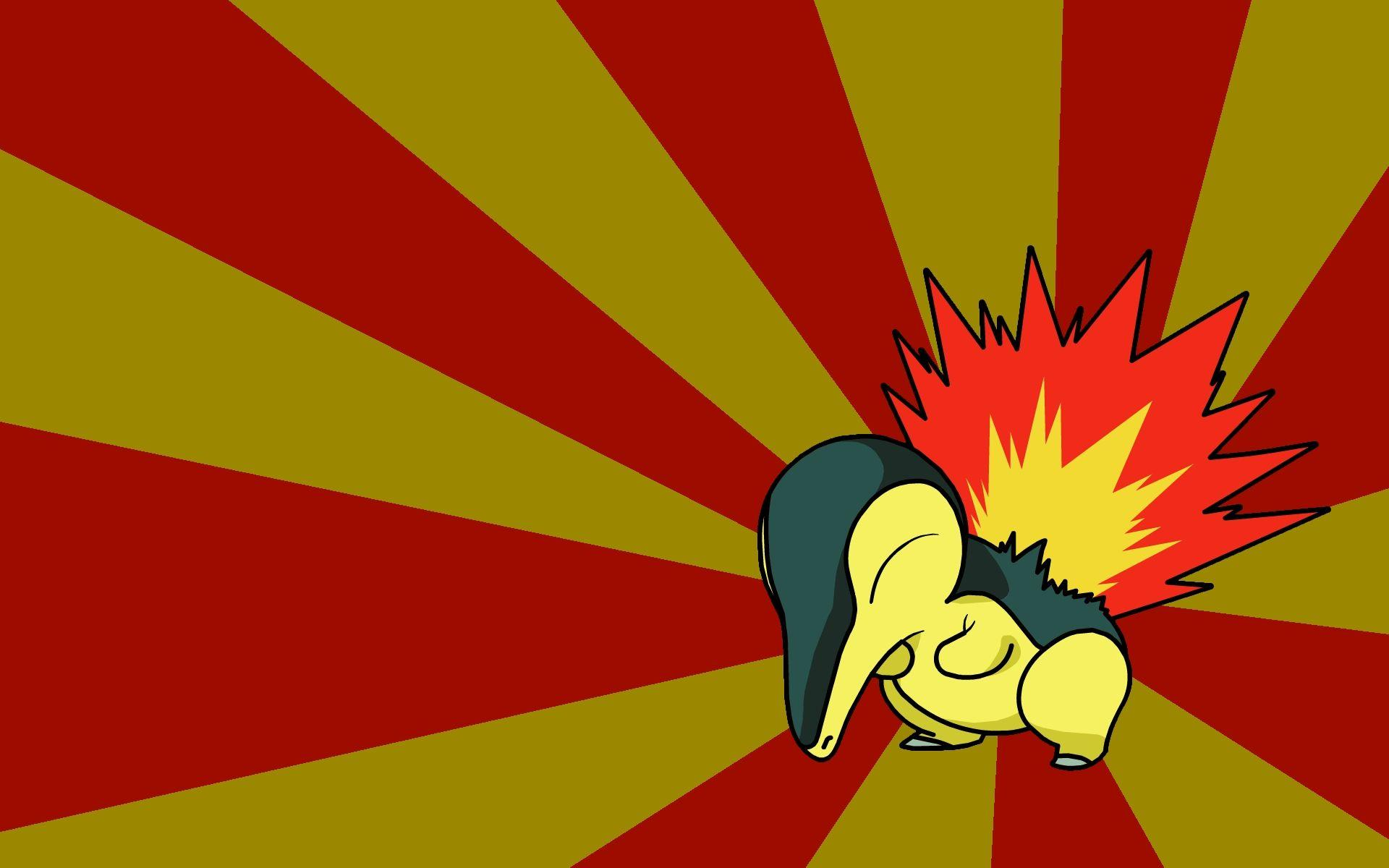 cyndaquil black backgrounds 1920x1080 wallpapers High Quality