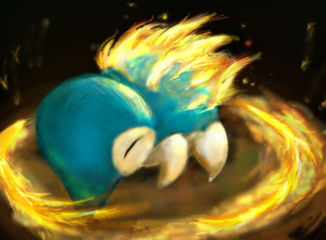 Cyndaquil used Fire Spin by sleepymiguel