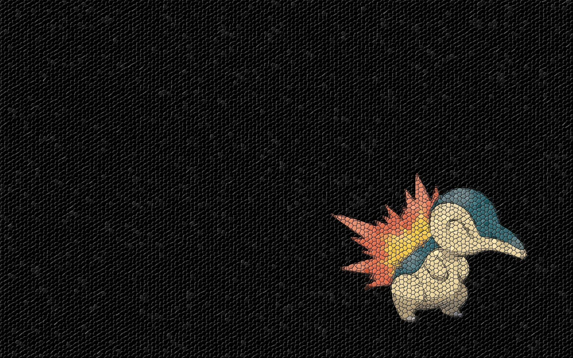 pokemon mosaic cyndaquil 1920x1200 wallpapers High Quality