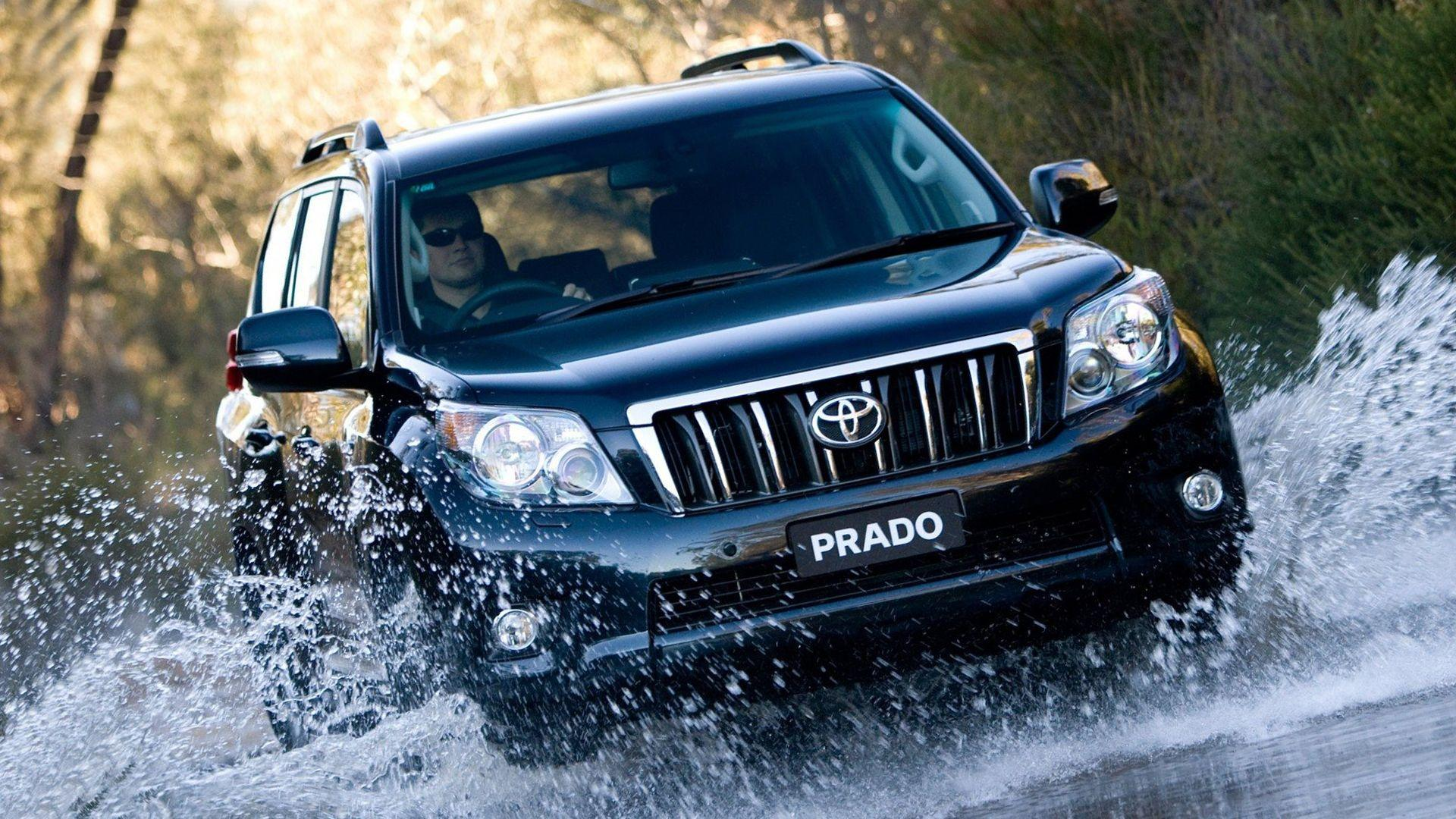 Toyota Land Cruiser Prado Wallpapers Wallpaper Cave