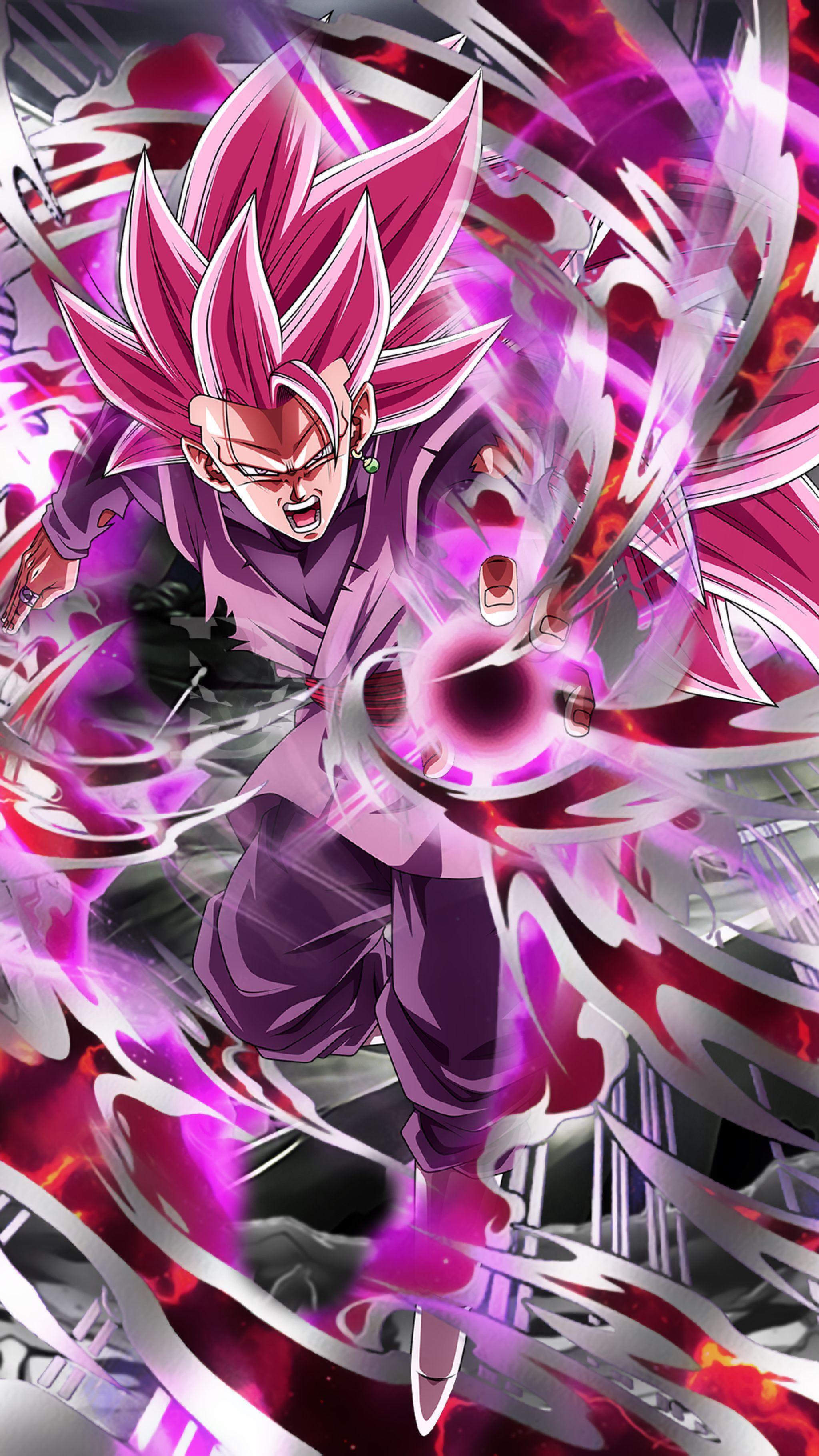 Goku Vs Goku Black iPhone Wallpapers ...