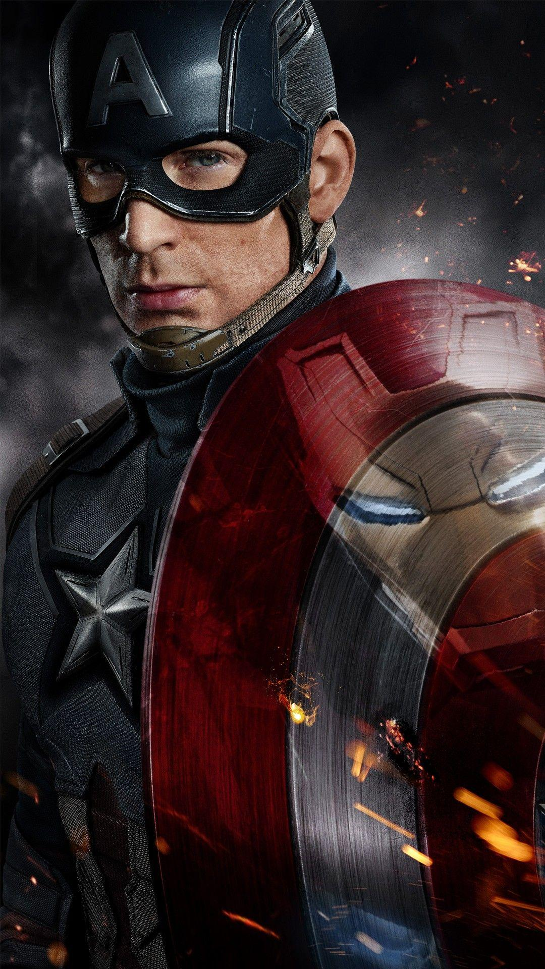 Captain America Civil War Chris Evans Wallpapers