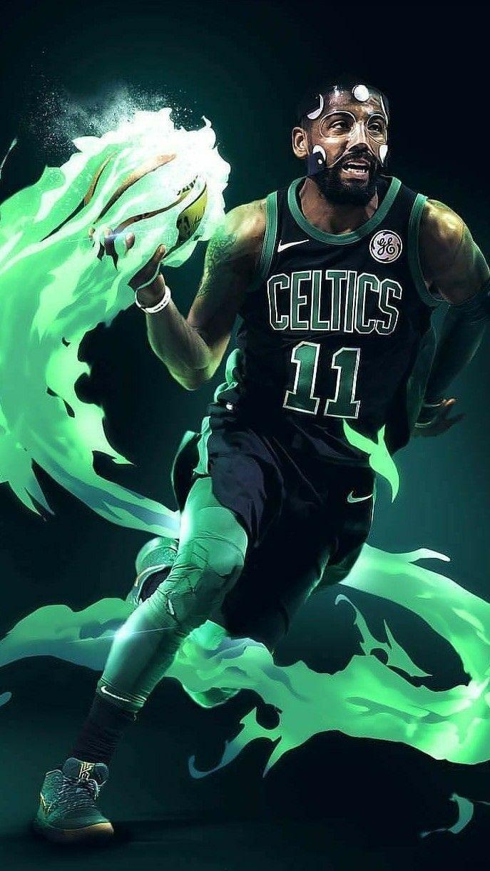 Kyrie Irving Boston Celtics Wallpapers Wallpaper Cave