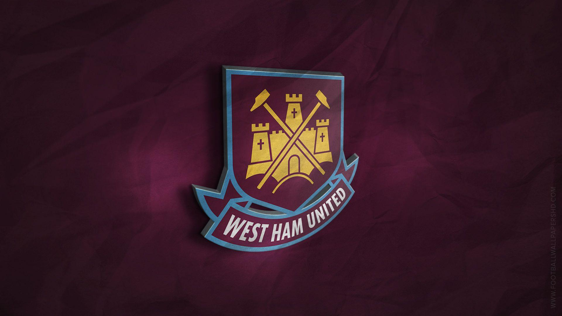 West Ham United 3D Logo Wallpapers