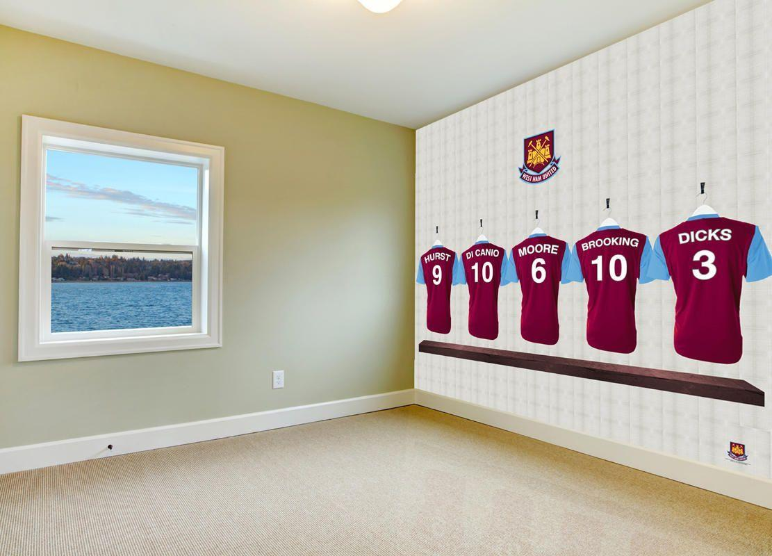 Dressing room heros in your bedroom. Official West Ham United FC