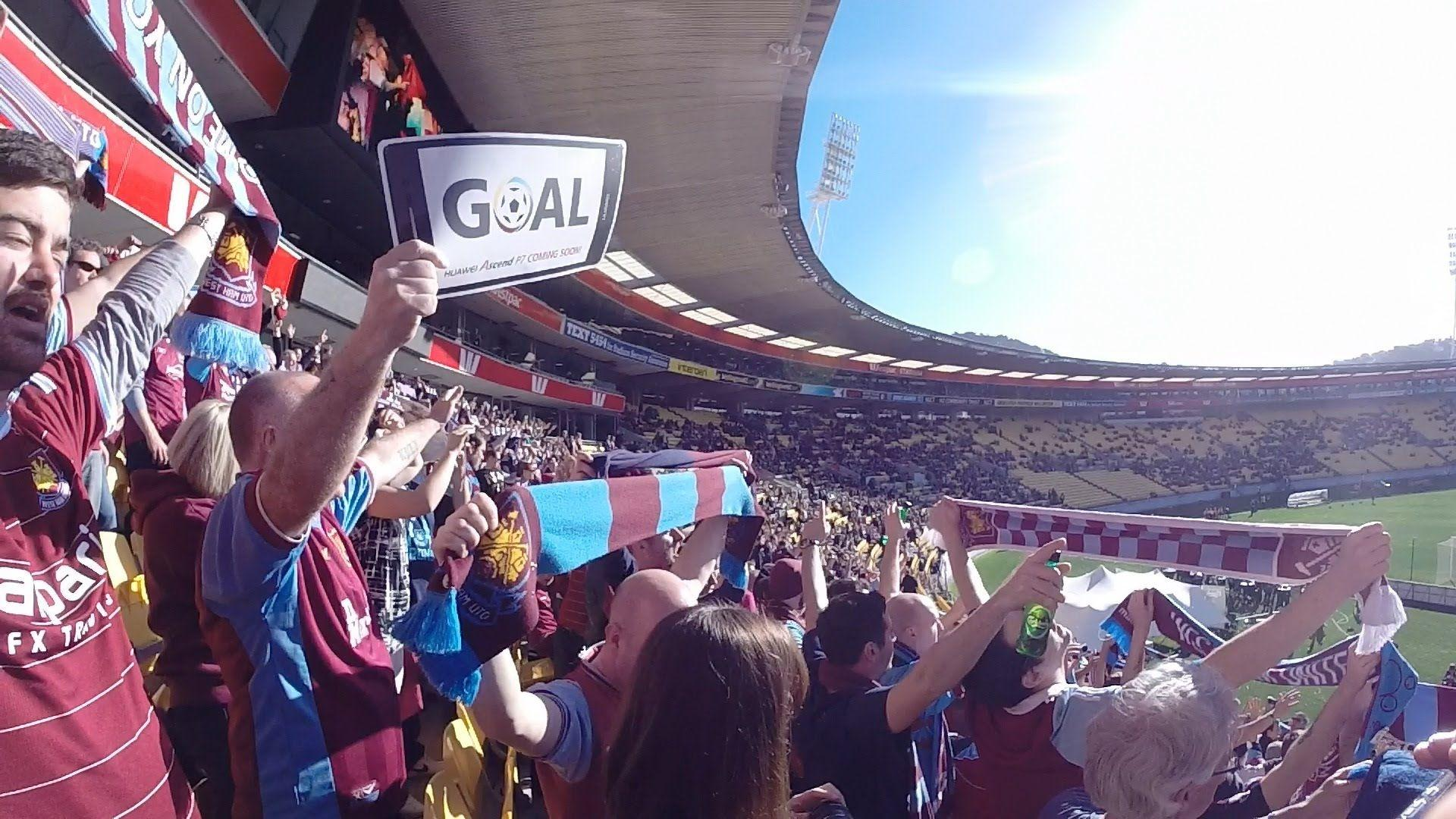 West Ham United fans travel to New Zealand for the Football United