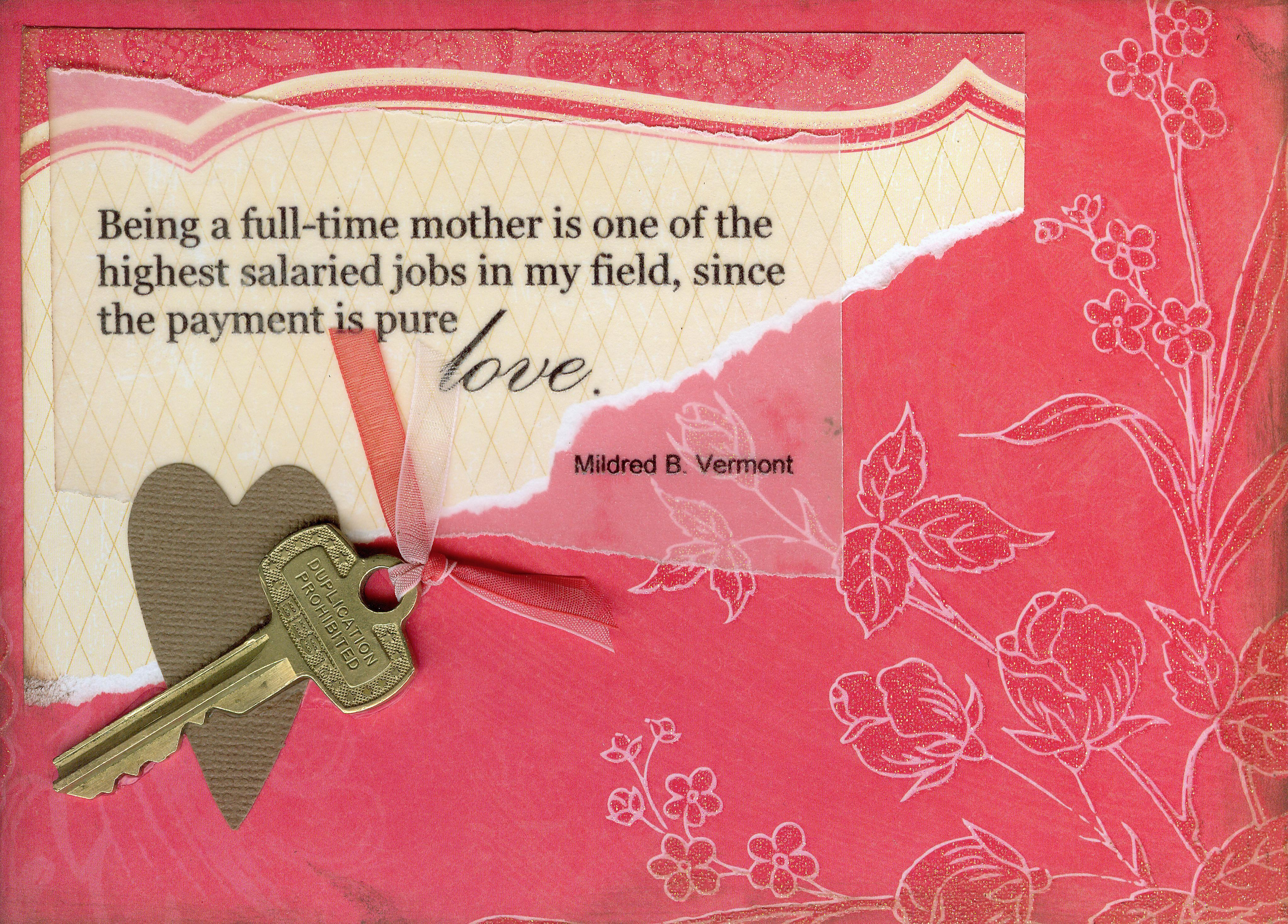 mothers day cards | Somewhither Arts » Mother's Day Cards ...