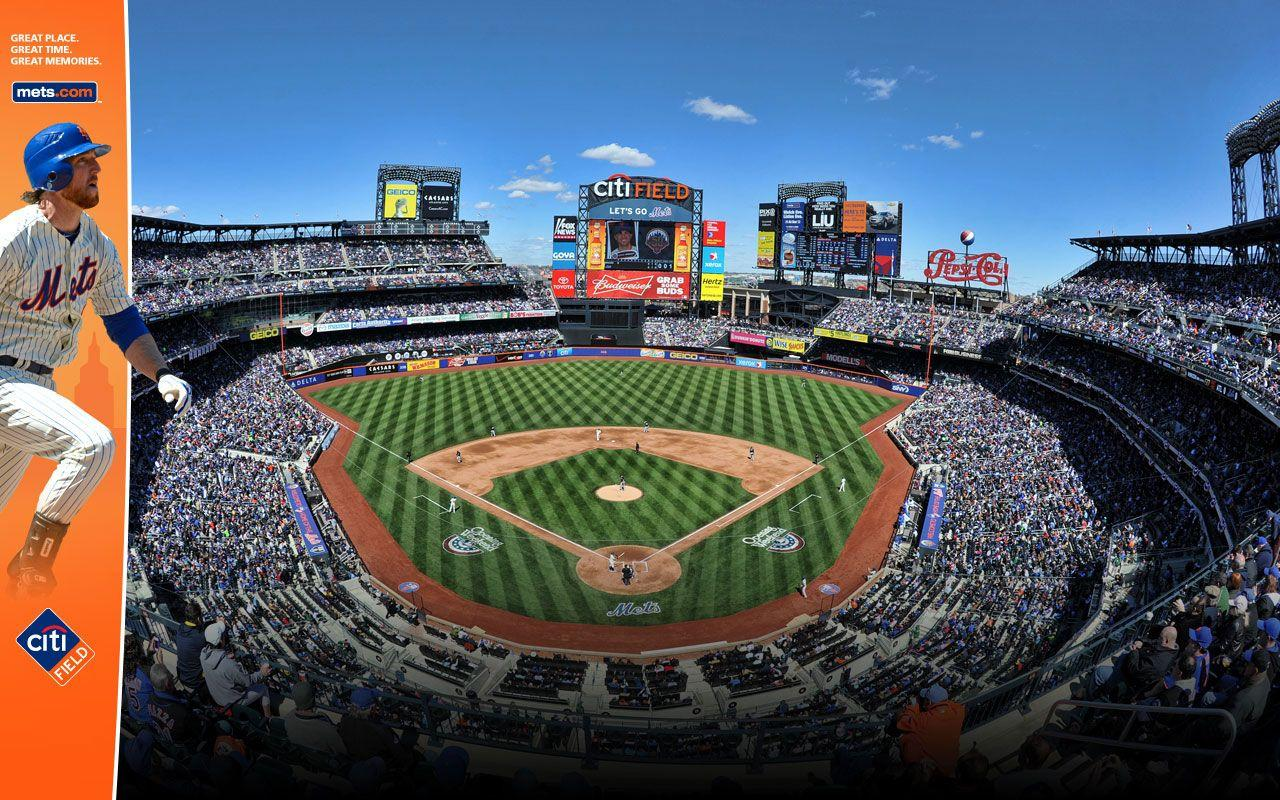 baseball stadium New York Mets free desktop backgrounds and ...
