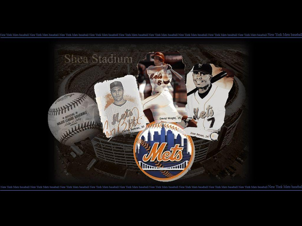 NY Mets Logo Wallpaper - WallpaperSafari