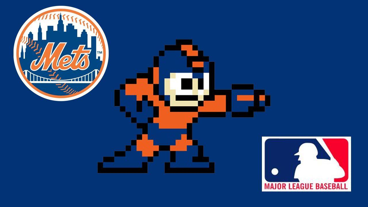 Mega Man MLB Series: New York Mets by Indy1988 on DeviantArt