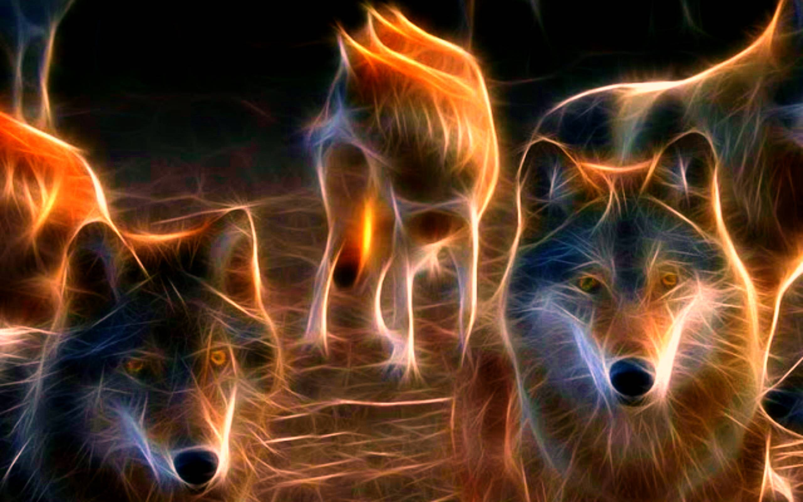 Neon Wolf Wallpapers