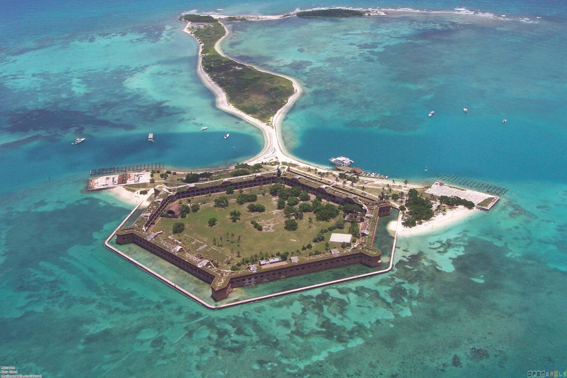 Fort jefferson dry tortugas national park wallpapers