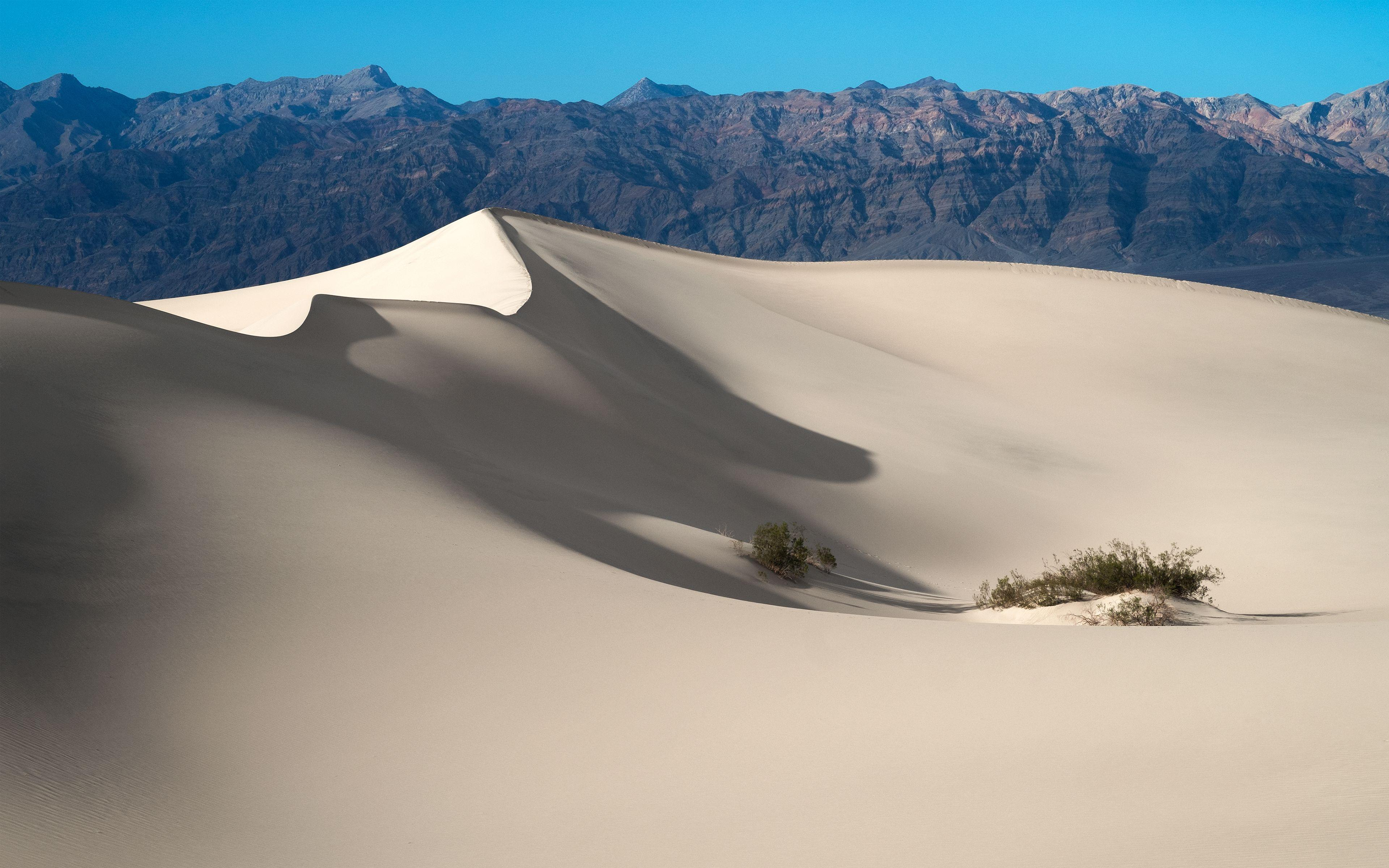Sand Dunes Death Valley National Park Wallpapers
