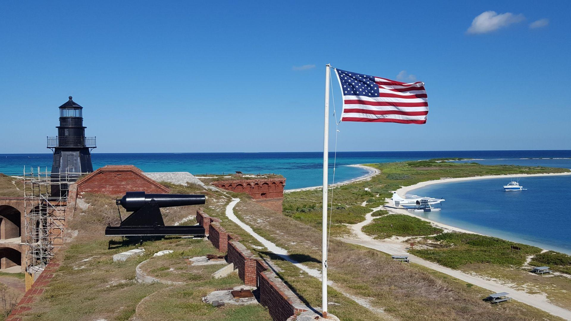 Remote Camping at Dry Tortugas National Park