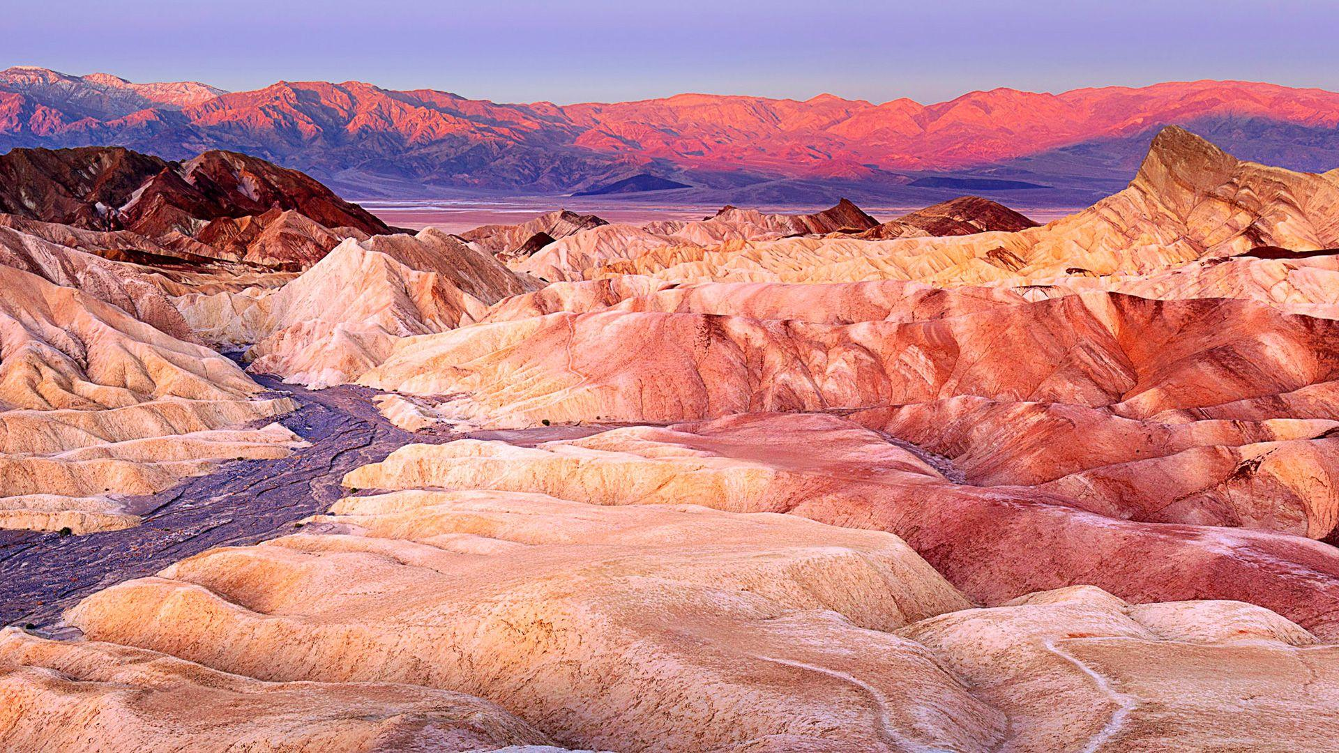 Zabriskie Point Death Valley California Wallpapers