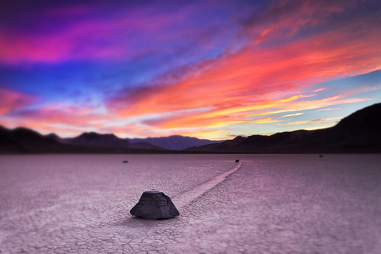 Joe Azure: Location : Racetrack Playa, Death Valley