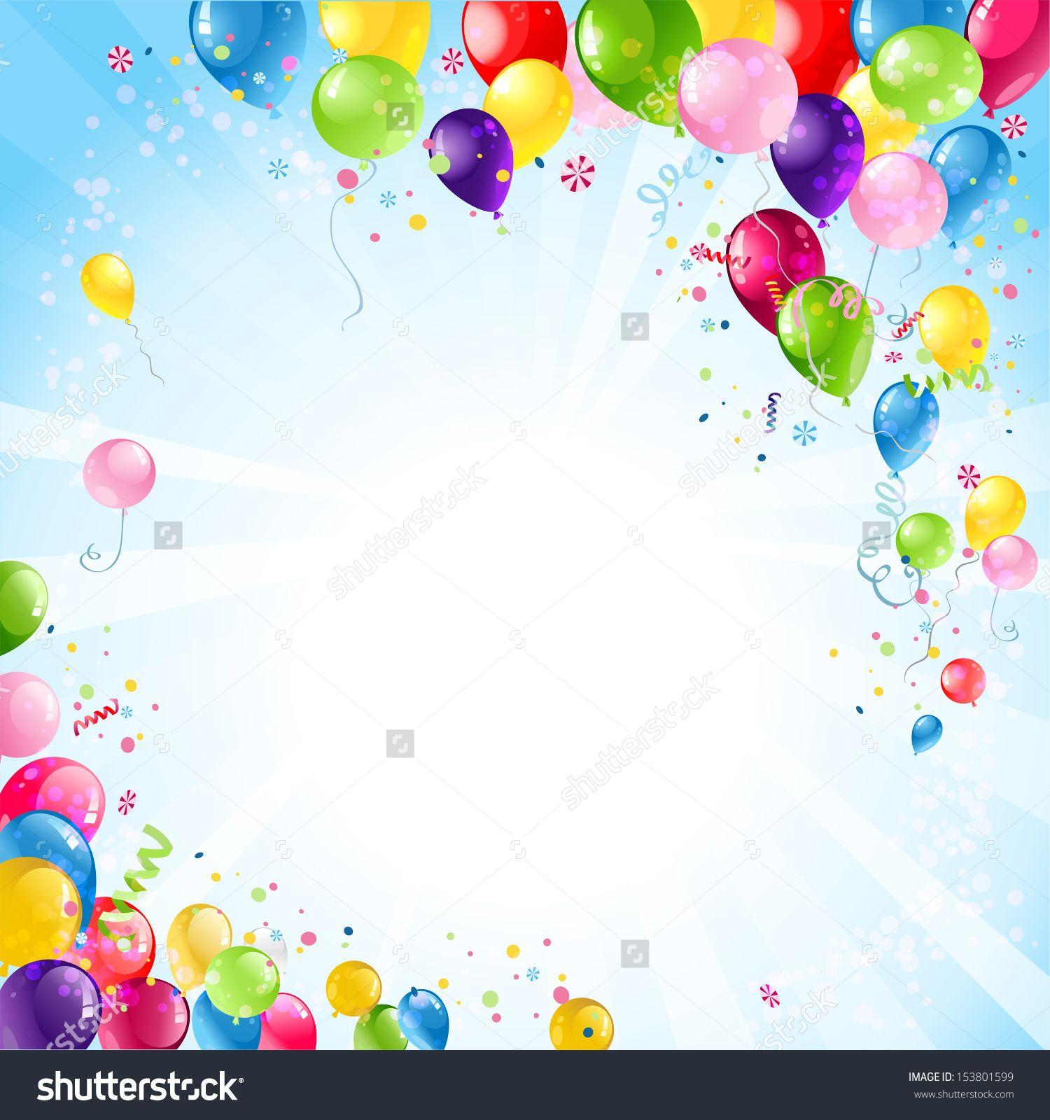 Free Birthday Backgrounds Vector