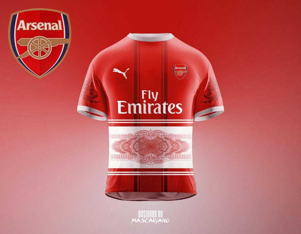 cf4460bd Arsenal FC 2017/2018 (Concept Kit) by Mascariano on DeviantArt · Download.  18