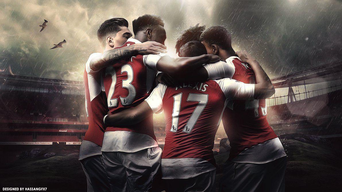 2cb95a4e Arsenal FC Desktop Wallpaper by HassanGFX7 on DeviantArt