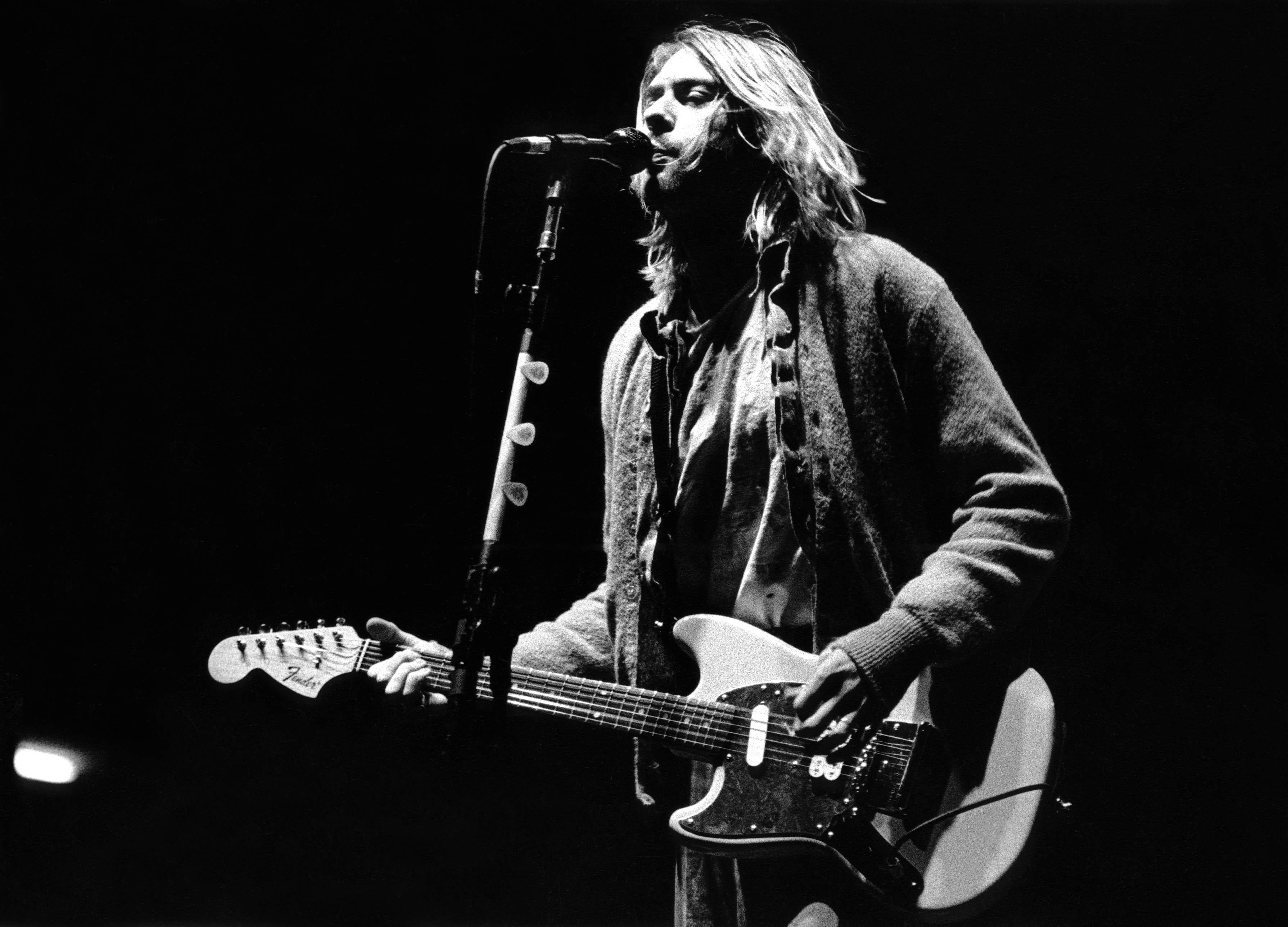 Kurt Cobain Wallpapers...
