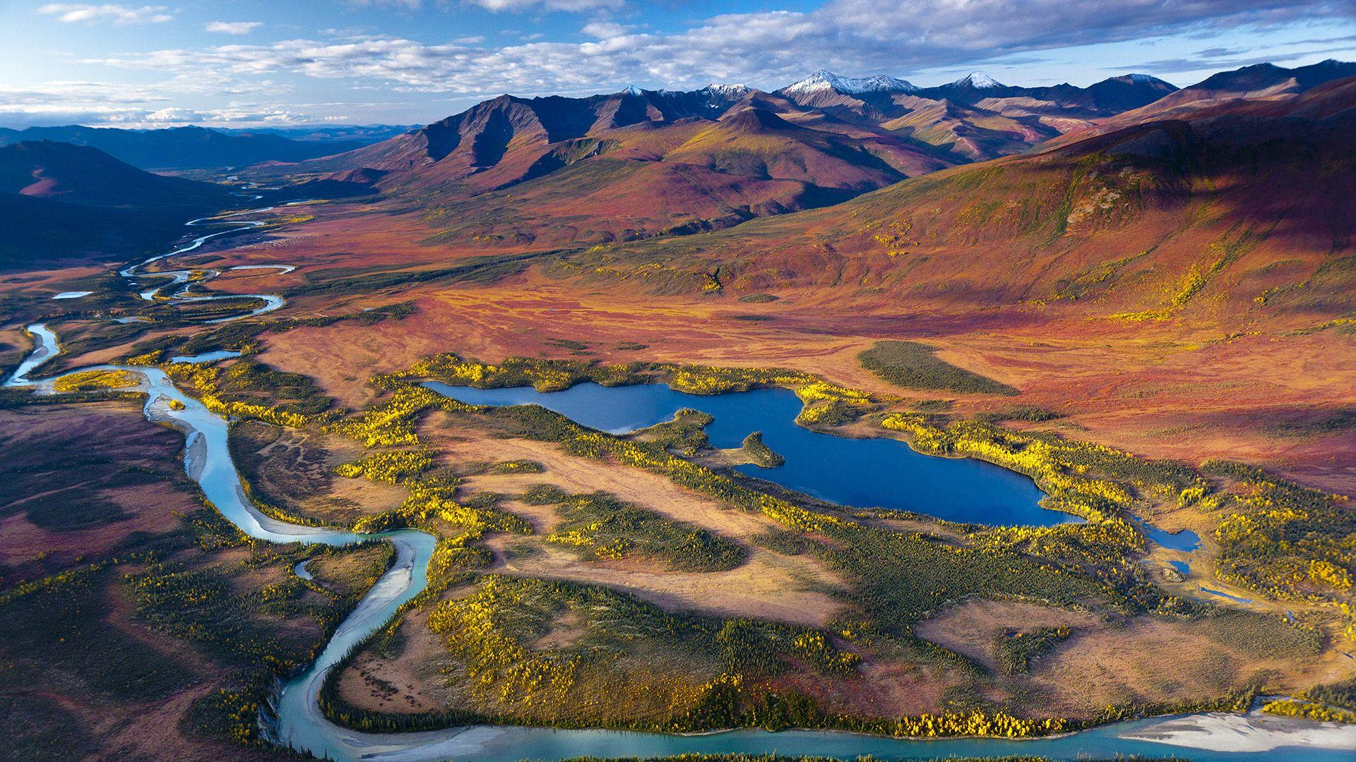 Gates of the Arctic National Park and Preserve, Alaska Full HD
