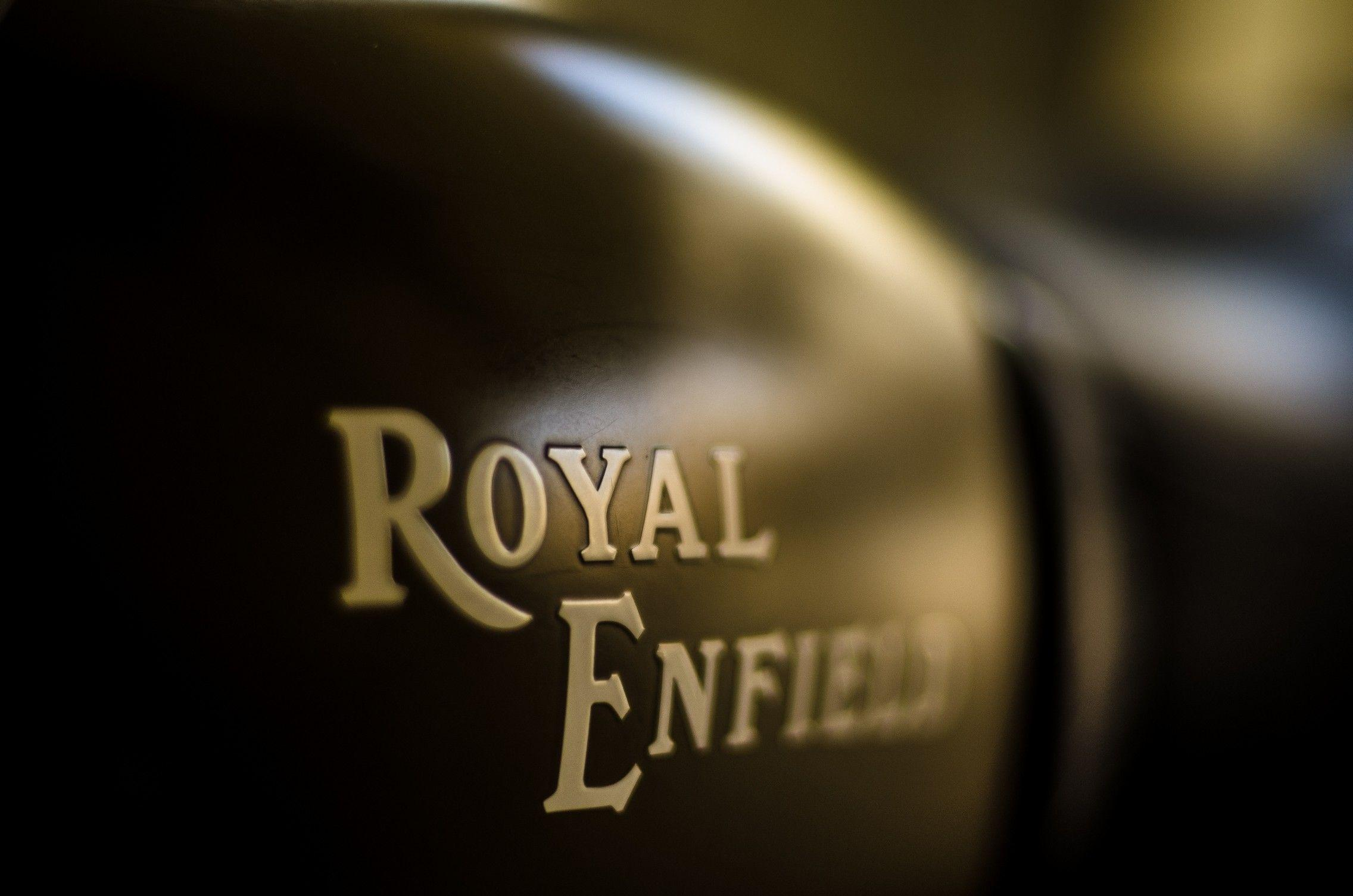 Royal Enfield Logo Wallpapers Wallpaper Cave