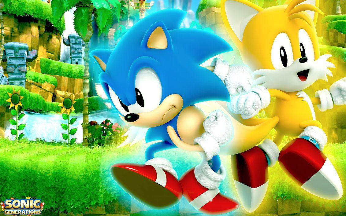 Classic Sonic Wallpapers Wallpaper Cave