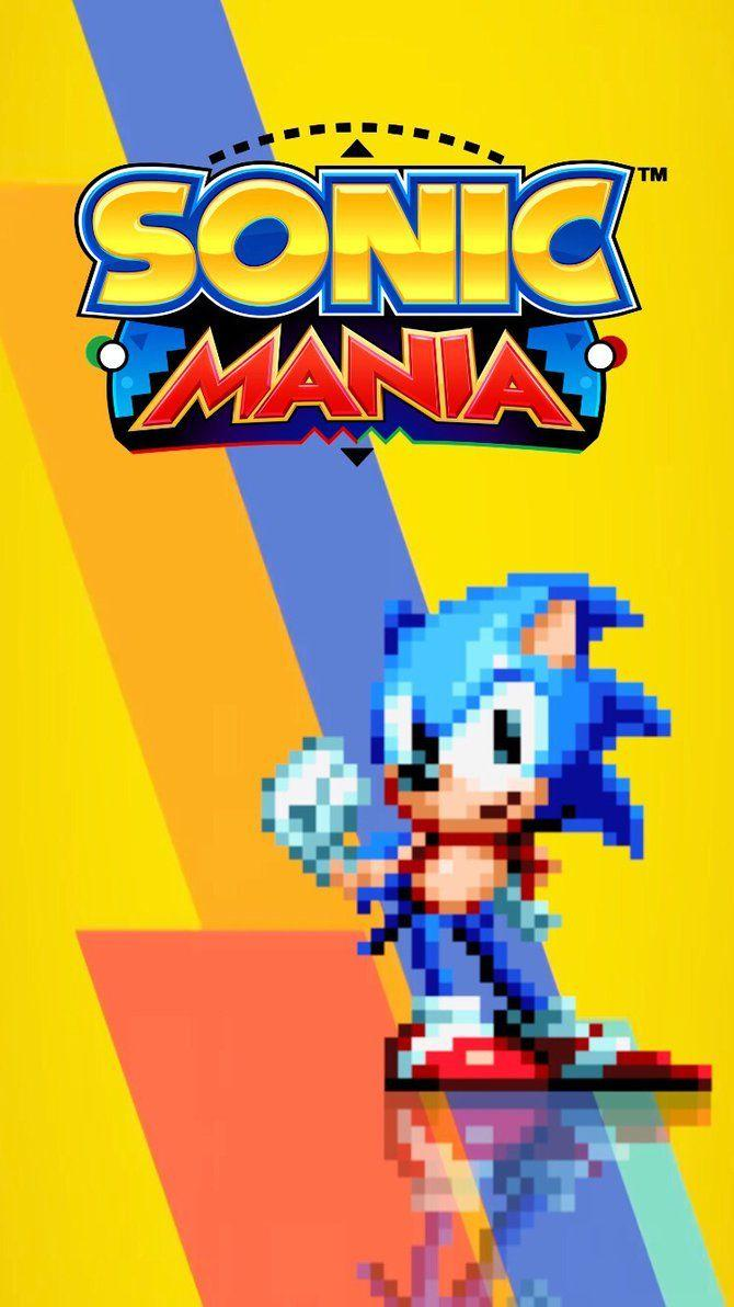 Sonic Mania iPhone Wallpapers by AaronKasarion