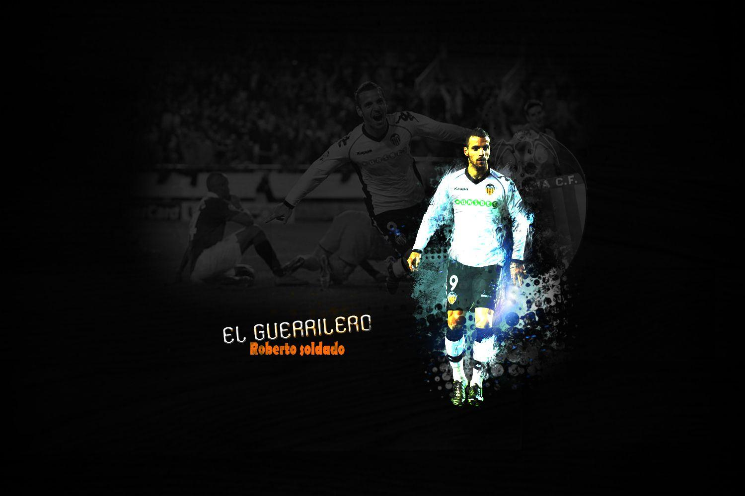Roberto Soldado | Valencia CF | JD WALLPAPERS • Wallpapers En Tus ...