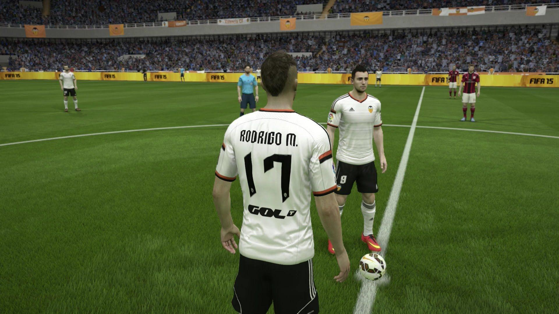 FIFA 15 - Valencia CF Player Faces - Next-Gen Gameplay 1080p (PS4 ...
