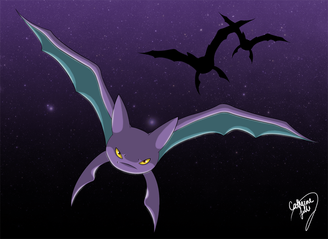 Crobat doodle by Light-Arya on DeviantArt