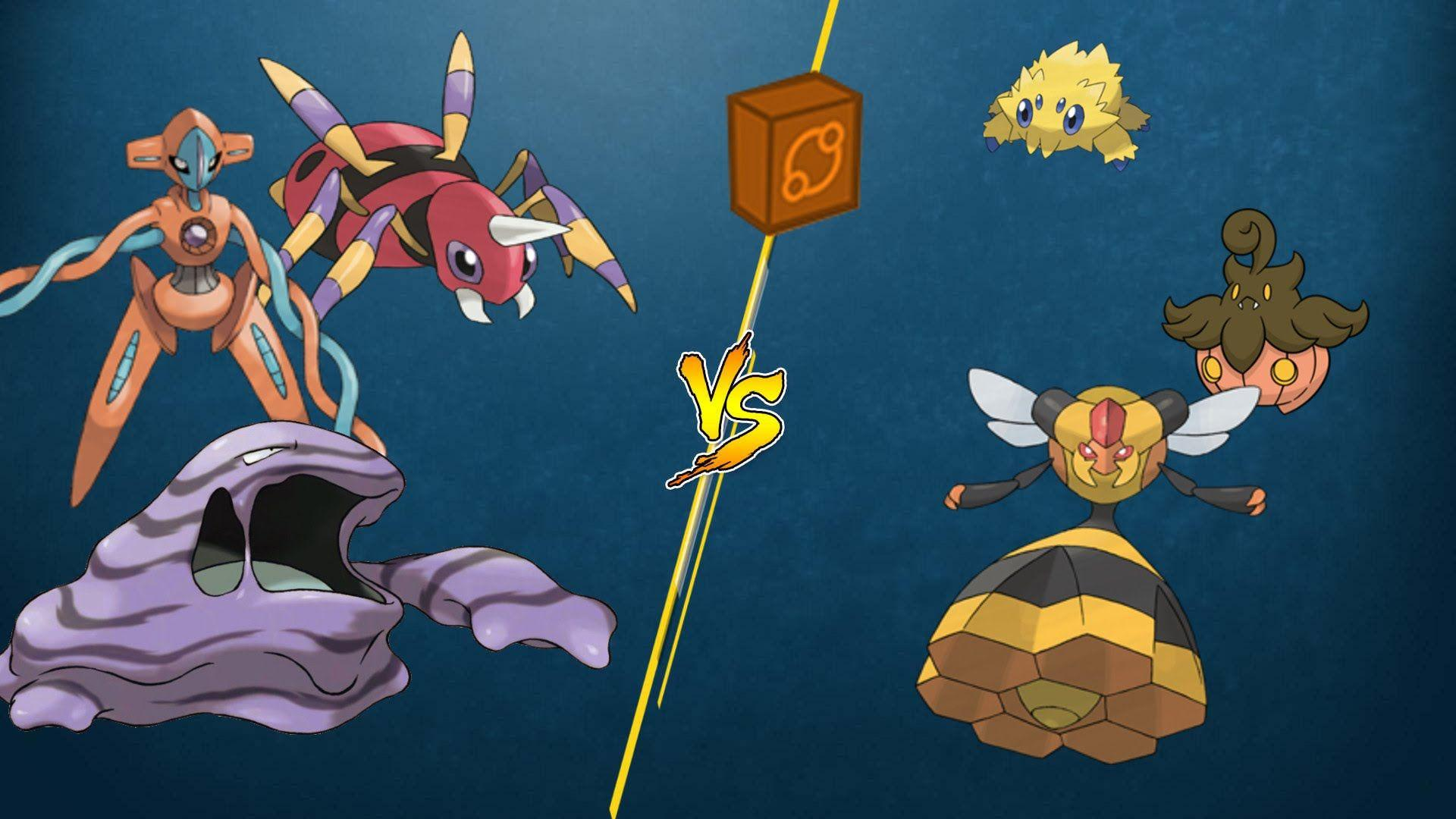 PTCGO Stream Match] Muk/Deoxys/Ariados vs Vespiquen/Night March ...
