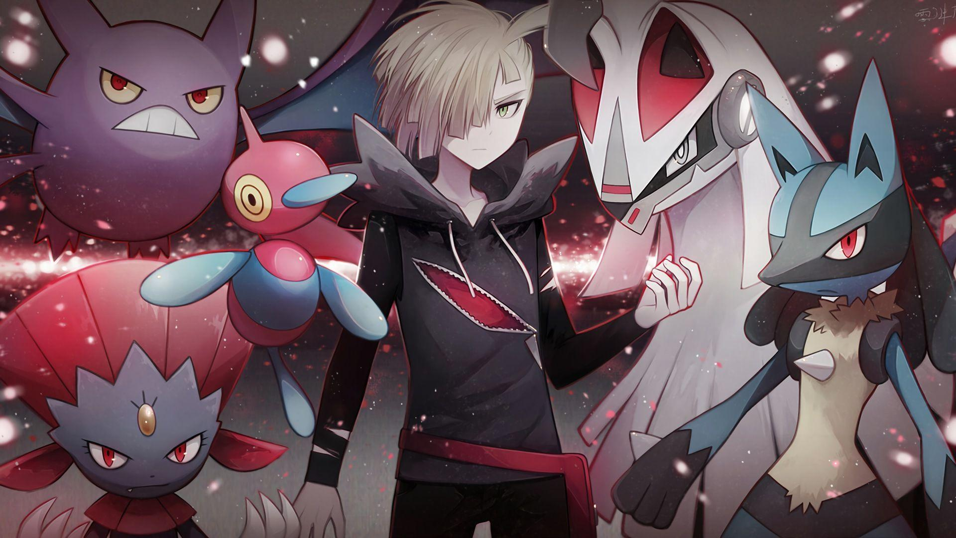 Porygon Z Gladion Weavile Crobat Sil... Wallpapers