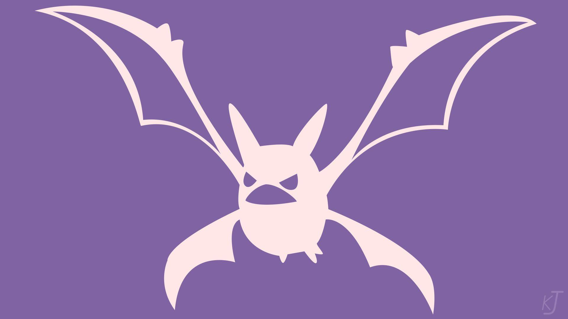 Pokemon | Crobat | Minimalist by KisaJoestar on DeviantArt