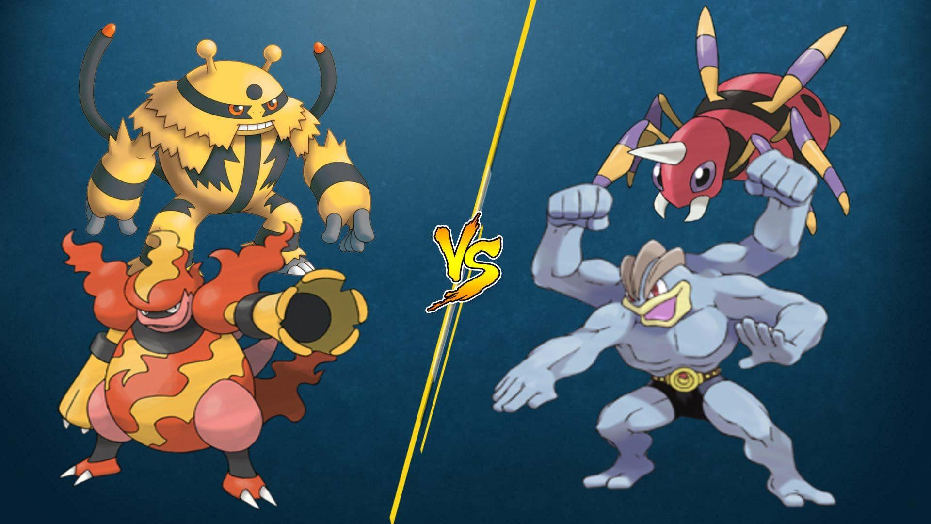 PTCGO Stream Match] Magmortar/Electivire vs Machamp/Ariados