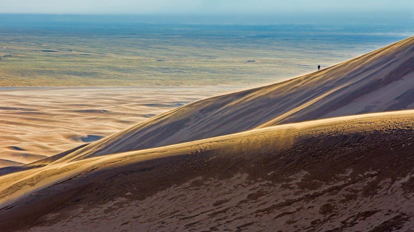 Bing Image Archive: Great Sand Dunes National Park and Preserve